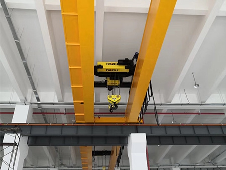 LH型16T欧式电动葫芦双梁桥式起重机