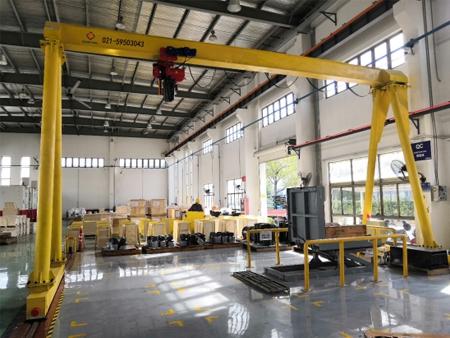 卡麦龙安装3T电动葫芦门式起重机