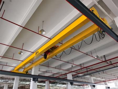 浙江客户定制电动葫芦双梁桥式起重机