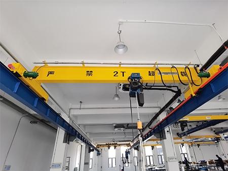 2T欧式单梁起重机(配环链电动葫芦)