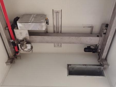上科大实验室定制不锈钢防尘起重机