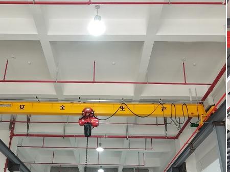 2.8T环链葫芦电动单梁桥式起重机