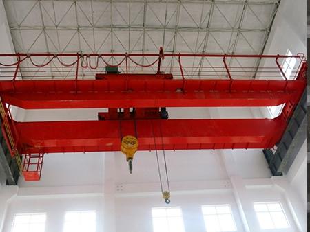 QD型16T+3T吊钩双梁桥式起重机--卷扬机主机